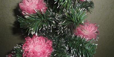 Креативный наряд для новогодней елки