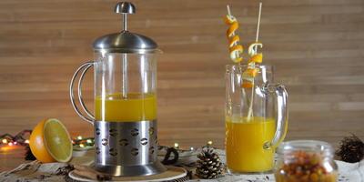 Согревающий облепиховый напиток: пряный, терпкий, зимний