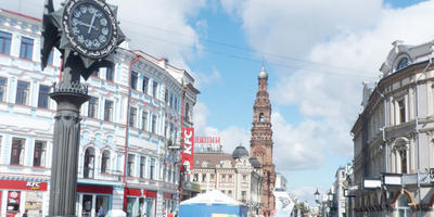 Казань - город контрастов!