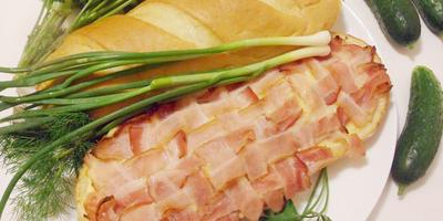 """Большой мясной сэндвич """"Брутальный"""" - для настоящих и очень голодных мужчин"""