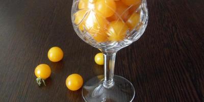 Томат Оранжевый коктейль F1. IV этап. Характеристика плодов