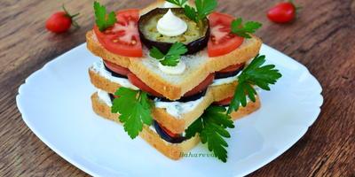 """Дачный бутерброд """"Краски осени"""""""