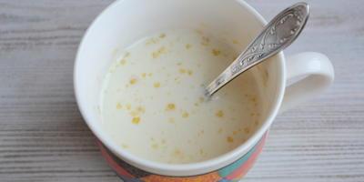 Сливочно-тыквенный десерт с джемом