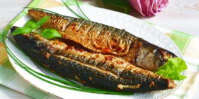 Скумбрия-гриль - бесподобная рыбка с копченым ароматом
