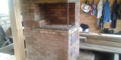 Печь на даче: штукатурить или клеить кафельной плиткой?