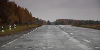 Осень, автопрогулка по деревням, поиск хорошего