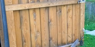 Секрет фиксации гаражных дверей