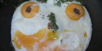 Весёлая яичница
