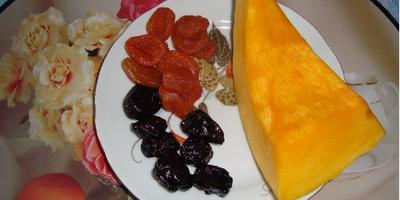 Витаминный десерт (постное блюдо)