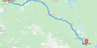 Автодикари Красноярск-Байкал