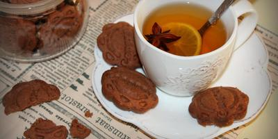 Прянички... имбирно-шоколадные