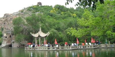 Клуб путешественников, или Наша поездка в Урумчи (Китай). 3 часть - парк Красная горка