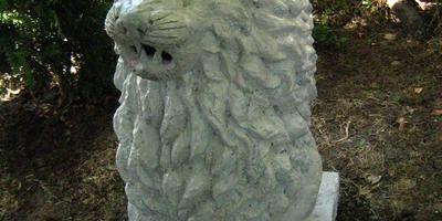 Лев из бетона - мастер-класс