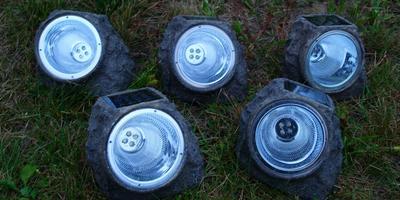 10 фонариков-камней из ОБИ, или Удачная покупка на распродаже!