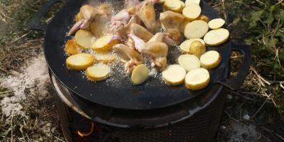 Садж-блюдо азербайджанской кухни, или Интересная чудо-сковорода для приготовления вкусной еды.....