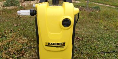 Мойка Karcher K5 Compakt Home получена для тестирования, или Мечты сбываются благодаря любимому сайту 7дач!!!