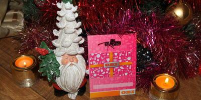 Добрый Дедушка Мороз мне подарочек принёс!!!