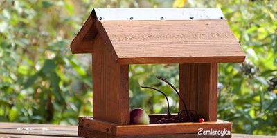 """Кормушка для птиц """"Если нет столярных навыков, а сделать очень хочется"""""""