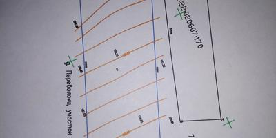 Помогите с планировкой узкого и длинного участка на склоне