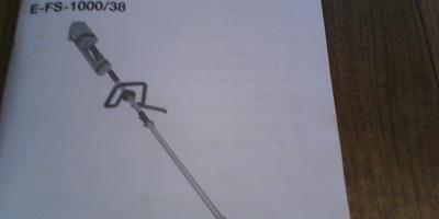 Мой друг - электрический триммер марки VARIOLUX T-FS — 1000/38