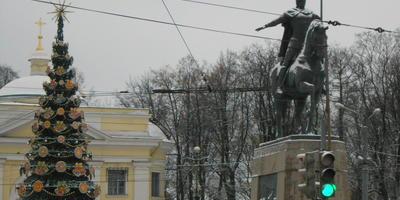 В Рождество Христово. Александро-Невская лавра