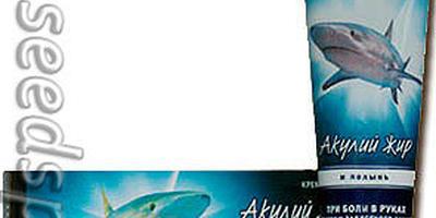 Акулий жир для красивых и здоровых ножек