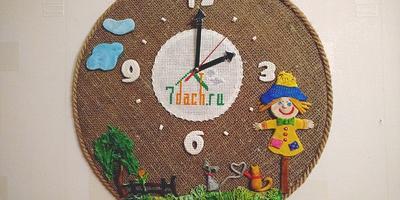А часы-то дачные - наши, семидачные