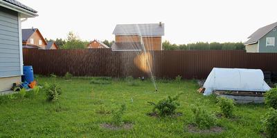 Осциллирующий дождеватель GARDENA ZoomMaxx. Полив грядок