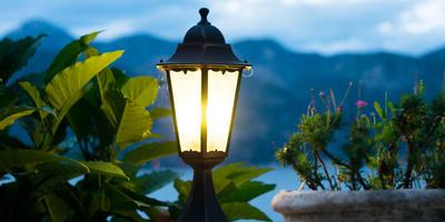 6 видов уличных фонарей и светильников