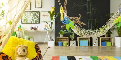Необычная дачная мебель из ткани: гамаки