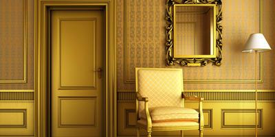 Декоративное золочение - оригинальный способ преобразить старую мебель