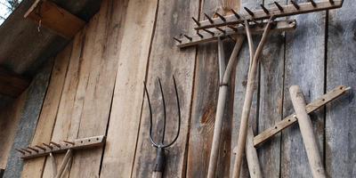 Эволюция садовых грабель. Необычные сведения об обычном инструменте