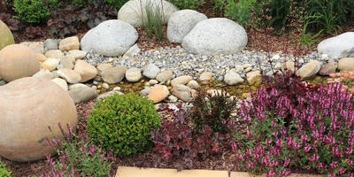 Как создать цветник с камнями: самые популярные типы рокариев