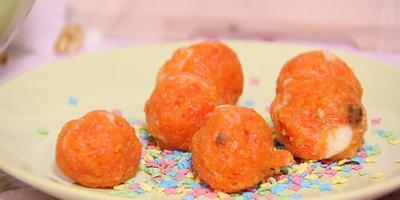 Конфеты из моркови (видео)