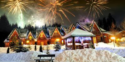 Как устроить новогодний фейерверк на даче