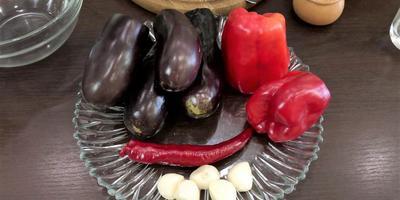 """""""Тёщин язык"""": закуска из баклажанов от Ольги Матвей"""