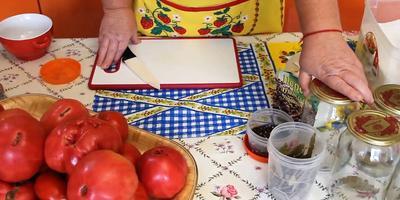 Помидоры в собственном соку: способ заготовки от Юлии Миняевой