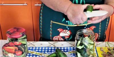 Огурцы в томатной заливке на зиму: заготовка от Юлии Миняевой