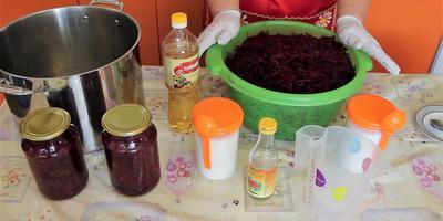 Заготовка свёклы на зиму: способ от Юлии Миняевой