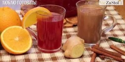 """Два напитка: повышаем давление и понижаем давление от Журнала """"Люблю Готовить"""""""