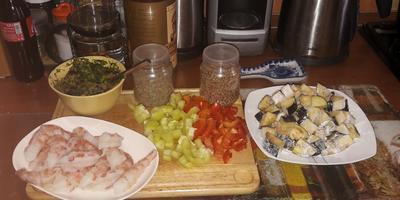 Закуска из баклажанов (еще один рецепт)