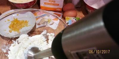 Кекс из кукурузной муки с цитрусовой ноткой