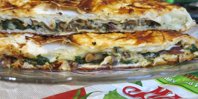 Пирог из лаваша - вкуснятина из самых обычных продуктов