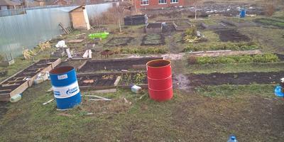 Домашнее задание №2: мой огород в реальности и перспективе