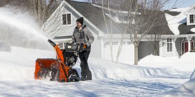 Компания Husqvarna предлагает готовые решения по повышению эффективности снегоуборочных работ в городе