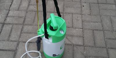 Приз за конкурс идей по использованию бетонного полотна Concrete Canvas - опрыскиватель!