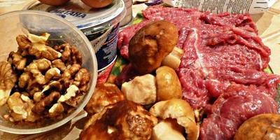 """Мясо в кляре """"По-царски"""""""