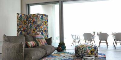 Необычная дачная мебель своими руками: используем ткани. Напольные подушки