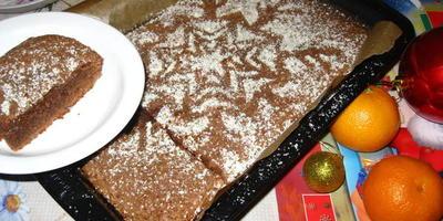"""Шоколадный пирог """"Брауни"""""""