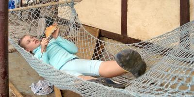 Вы любите отдыхать в гамаке?